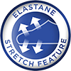 Elastane Stretch Feature