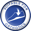 Suitable wide fit shoes for Orthotics