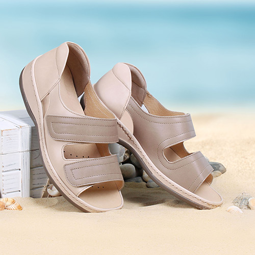 Ladies Ultra Wide Sandals