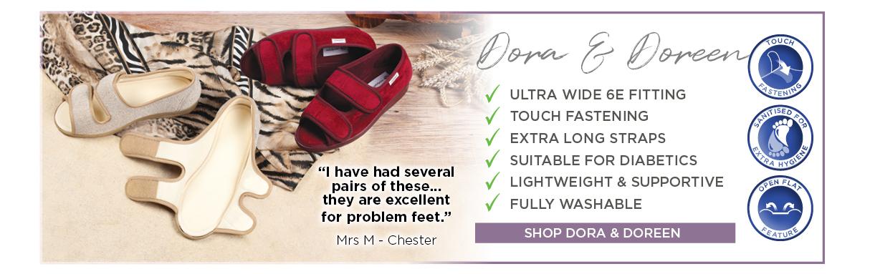 Dora & Doreen Ladies Slipper Sandals