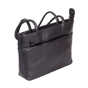 Calgary Leather Shoulder Bag