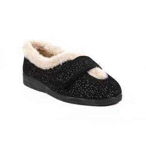 Selina Ladies Extra Wide Slipper