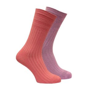 FeatherTop Extra Wide Cotton Socks