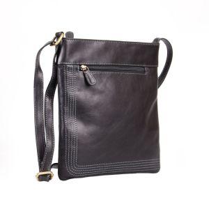 Toronto Leather Shoulder Bag