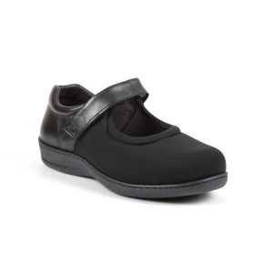 Walmer Ladies Extra Wide Stretch Shoe