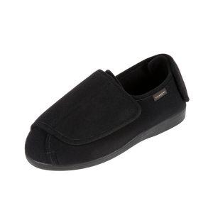 Walter Men's Extra Wide Open Flat Slipper